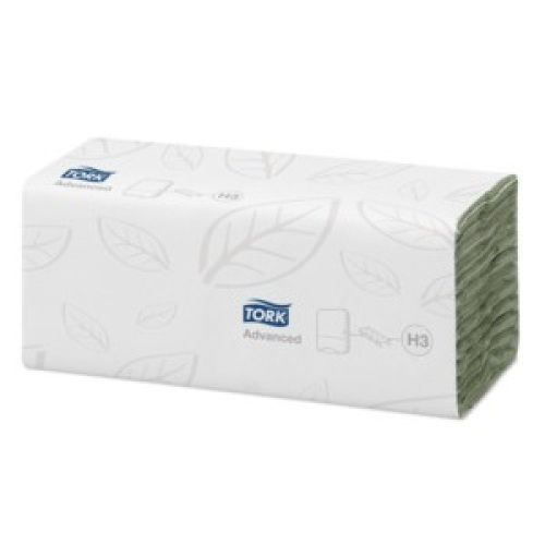 Tork Advanced Hand Towel C Fold Green (H3) product foto Front View L