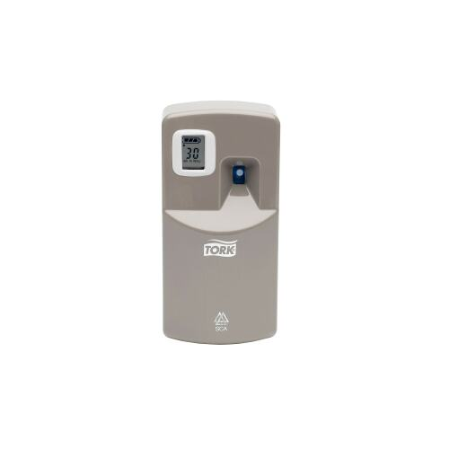 Tork Dispenser Airfreshener Aerosol Electronic Grey (A1) product foto Front View L