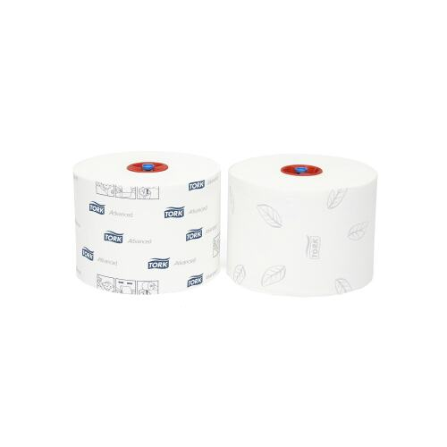 Tork Advanced Toiletpapier Mid-size rol (T6) product foto Front View L