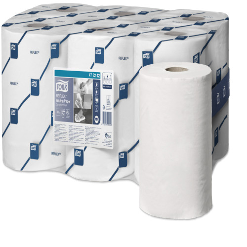 Tork Reflex Wiping Paper Centerfeed  product foto Front View L
