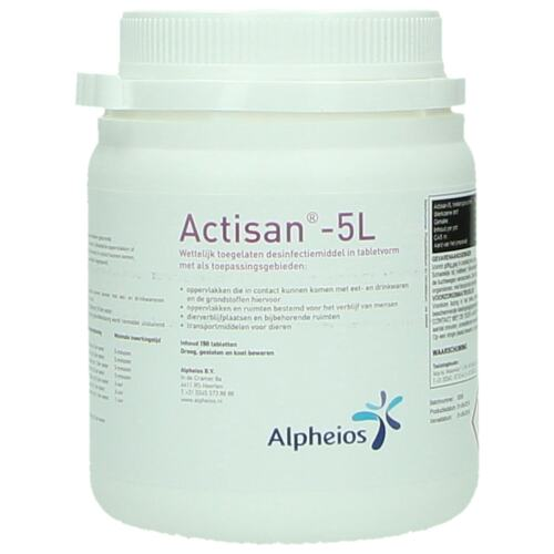 Actisan 5l product foto Front View L