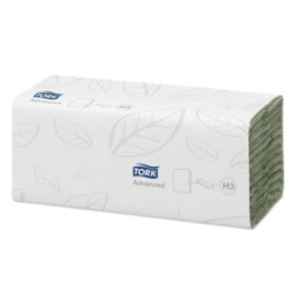 Tork Advanced Hand Towel C Fold Green (H3) product foto
