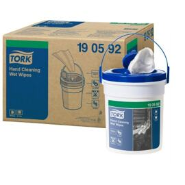 Tork Premium Wet Wipe Handy Bucket blue product foto