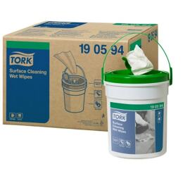 Tork Premium Wet Wipe Surface Handy Bucket product foto