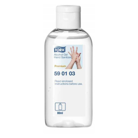 Tork Alcohol Gel Hand Sanitizer 24 x 80 ml product foto