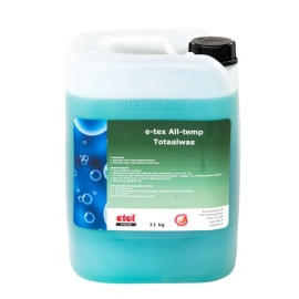 E-Tex All-temp Totaalwas 10 l product foto