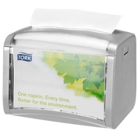 Tork Xpress Napkin Dispenser Light Grey (N4) - bruikleen product foto